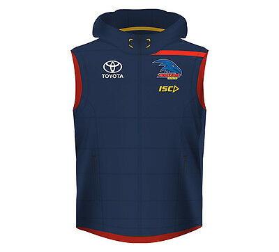 New Adelaide Crows Padded Vest 2017 Mens Supporter-Gear