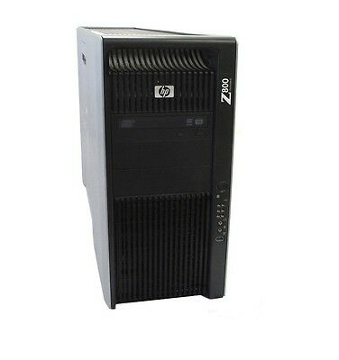HP Z800 Workstation 2 X Quad Core Xeon 2.80GHz , 24GB RAM ,1TB , nVidia FX580