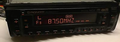 Pioneer KEH-M8000RDS used tape Stereo Face Front panel Old School Car Audio