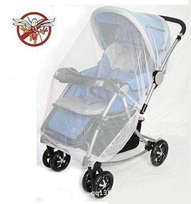 Universal Insect Mosquito Bug Safe Mesh Net Cover Baby Strollers Bassinets