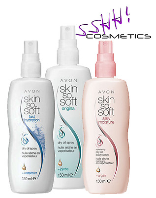 Avon Skin So Soft Dry Oil Sprays | FREE DELIVERY!! |