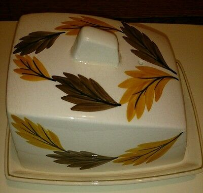 Vintage Studio Szeiler. Retro butter dish  Unusual piece of Szeiler ceramic.