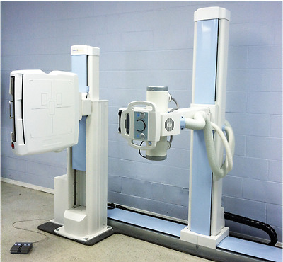 xray machine rad room