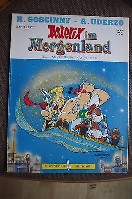 Asterix im Morgenland Paper Back Comic by Goscinny and Uderzo German Text