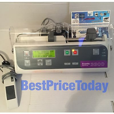 GRASEBY 3300 PCA SYRINGE DRIVER INFUSION PUMP REMOTE CASE Perspex Cover