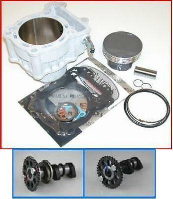 Suzuki DRZ400 434 HotCams Stg2 Cams & Big Bore Cylinder Piston Gasket Kit Combo