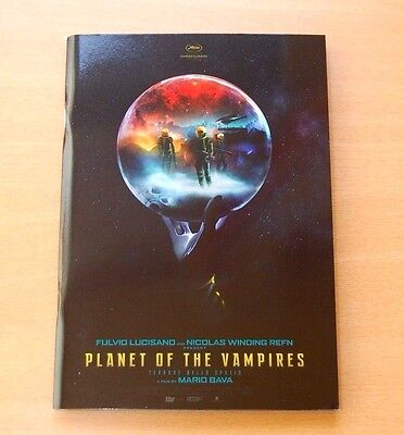 PLANET OF THE VAMPIRES Official Pressbook Cannes 2016 Mario Bava Lamberto Giallo
