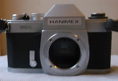M42  Body Only:  HANMEX 35SL - a rebadged Chinon M-1. Meter dead
