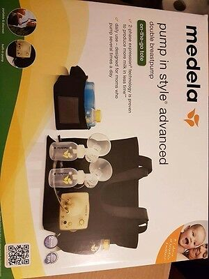 New Medela Pump in Style Advance Advanced DoubleBreast pump