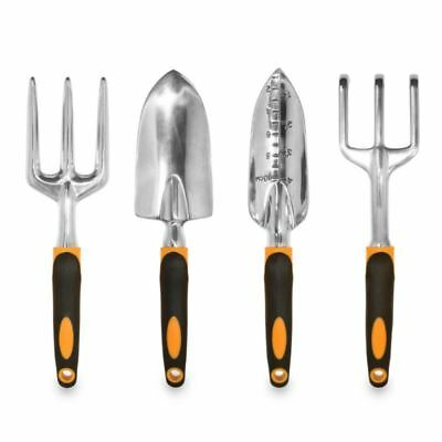 GardenHOME™ Ergonomic 4 Piece Garden Tool Set - HEAVY DUTY