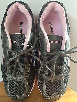 7455365e500a97 Reebok Work RB164 Ketee Womens Pewter Pink Steel Toe EH Athletic Shoes