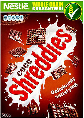 Nestle Shreddies Coco 500G
