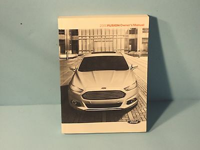 13 2013 ford fusion owners manual 8 03 picclick rh picclick com ford fusion 2013 owners manual ford fusion 2012 owners manual pdf