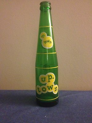 Vintage UpTown Green Pop Bottle Ottawa