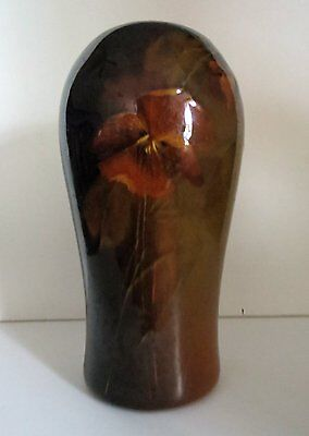 OWENS POTTERY UTOPIA VASE Hand Painted Art Pottery c.1900