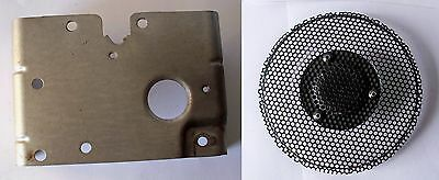 Briggs Stratton #491490 cylinder head cover tin & screen, fits 12hp engine