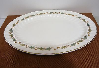 "Royal Doulton English Bone China Large Oval Serving Platter 16"" Excellent H 4967"