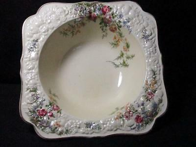Vintage Crown Ducal Florentine Rosalie Open Vegetable Serving Dish  Kt916