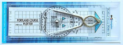 Portland Course Plotter and Dividers Kit - great for RYA courses