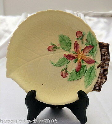 🌟 CARLTON WARE YELLOW APPLE BLOSSOM JAM TRINKET OR PIN DISH more instore