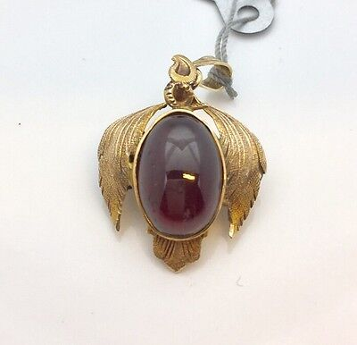 Antique 14k Garner Pendant Pin