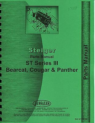 Steiger ST Series III Bearcat, Cougar & Panther Parts Book (photocopy)