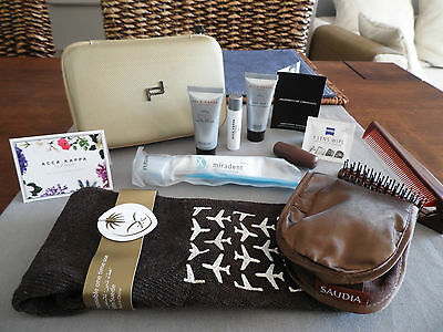 SAUDIA Business Class PORSCHE DESIGN Amenity Kit Trousse Neceser Kulturbeutel