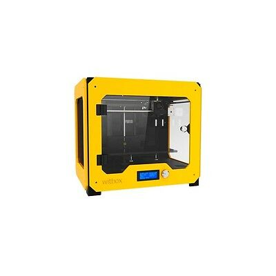 OUTLET bq WitBox 3D printer single extruder yellow