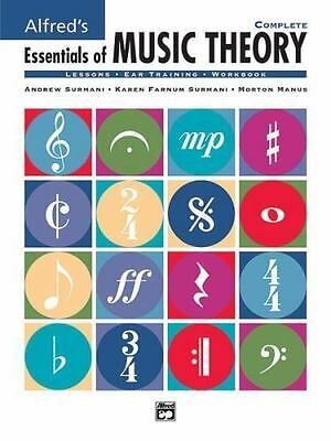 Alfred's Essentials Of Music Theory  Complete (books 1-3): By Andrew Surmani,...