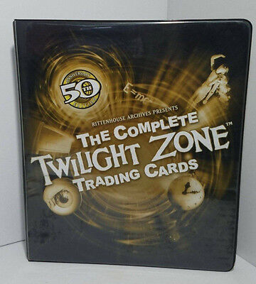 Rittenhouse Archives 50th Anniversary Edition TWILIGHT TRADING CARD BINDER