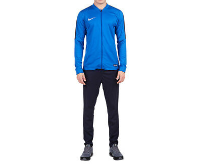 Nike Men's Academy 16 Knit Tracksuit - Royal Blue/Obsidian/White