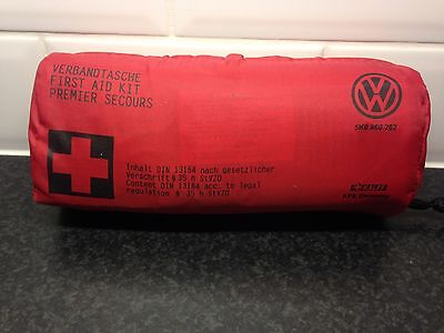 VW First Aid Kit OEM 5K0860282 Genuine New Sealed - Road Safety, Audi Skoda Seat