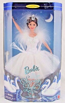 Barbie as the Swan Queen in Swan Lake Classic Ballet Series, New in Box