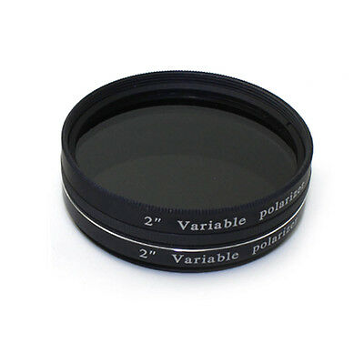 New 2Inch Variable Polarizing Filter No3 for telescope astronomic Eyepiece+Track