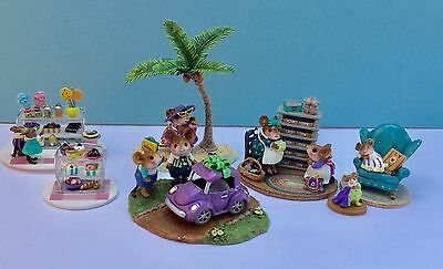 Mouse Expo 2017 In Your Dreams Event Set #2, Wee Forest Folk, Includes 7 pieces