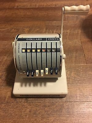 Paymaster Cheque Writer Canadian Series X-550