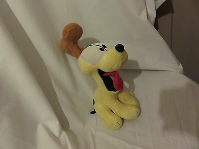 "8"" cute soft  standing odie the dog from garfield & odie paws inc plush doll"