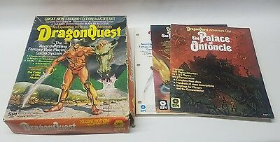 SPI Dragon Quest 2nd Edition Master Set RPG 1980 99% Complete in Box
