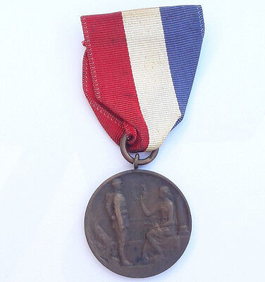 Fall River Massachusetts Parish of Our Lady of Lourdes WWI Service Medal
