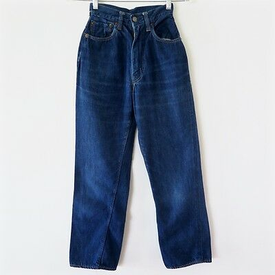 Vintage Original Levis Big E Denim Jeans 701 Z Xx Hidden Rivet V Stitch W24 L26