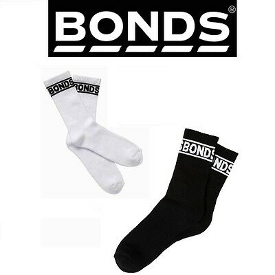 6, 10 or 12 PAIRS x BONDS MENS CUSHIONED SOLE LONG CREW SOCKS Sports Tennis Sock
