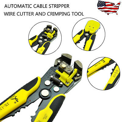Electric Cable Wire Stripper Cutter Crimper Automatic Multifunctional Plier Tool