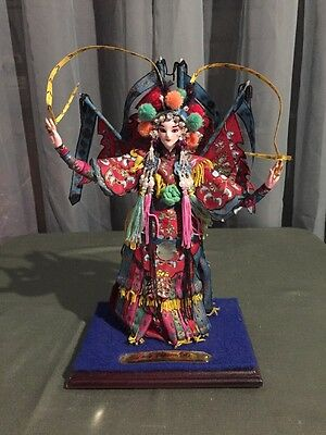 Lady General Mou Chinese Silk Doll In Box