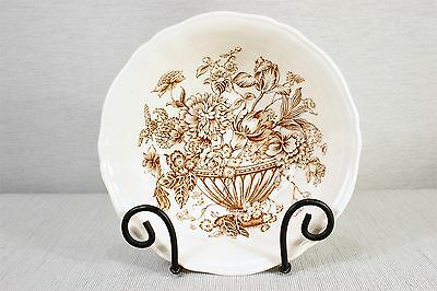 "Alfred Meakin FLORAL BOUNTY  8 1/2"" Round Open Vegetable Bowl Transferware MINT!"