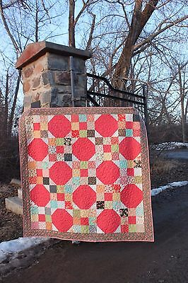 New Handmade Quilt 68 inches by 68 inches square