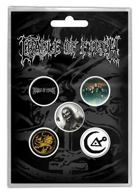 Cradle Of Filth - 5 x 2.5cm Button Set - Hammer Of The Witches