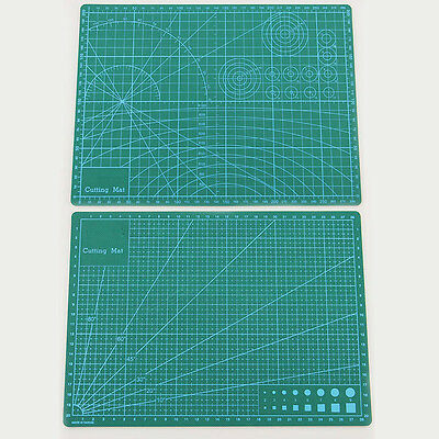 A4 A5 Self Healing Non Slip Craft Quilting Printed Grid Lines Board Cutting Mat