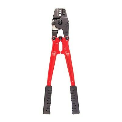 350mm Hand Swager Swage Crimper Crimping Stainless Steel Wire Cutter Tool