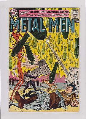 Metal Men #1 DC Comics 1963 VG+ Silver Age