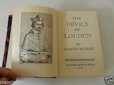 tHE DEVILS OF LOUDUN POSSESSION WITCHCRAFT DEMONS NUNS PRIEST TRUE STORY BOOK HC